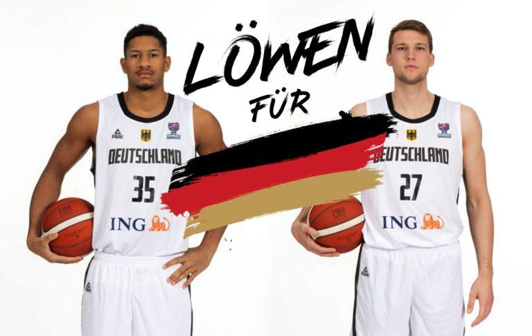 Kapitäns-Duo erneut in DBB-Herren-Nationalmannschaft berufen