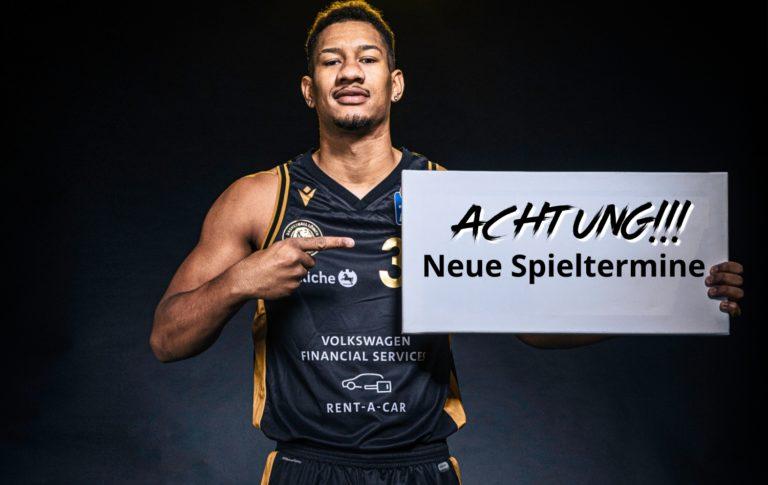 Neue Termine für Spiele gegen München, Oldenburg und Göttingen