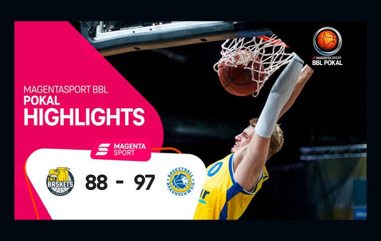 EWE Baskets Oldenburg – Basketball Löwen Braunschweig | MagentaSport BBL Pokal, 20/21 | MagentaSport