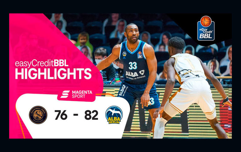 Basketball Löwen Braunschweig – ALBA Berlin | 13. Spieltag, 2020/2021 | MAGENTA SPORT