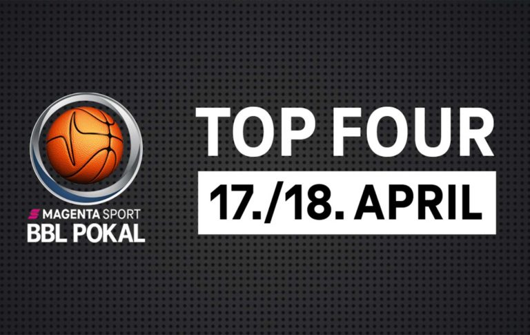 MagentaSport BBL Pokal – TOP FOUR im April in München