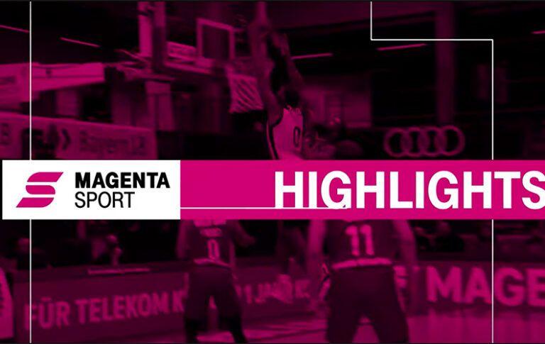 Basketball Löwen Braunschweig – BG Göttingen | 20. Spieltag, 2020/2021 | MAGENTA SPORT
