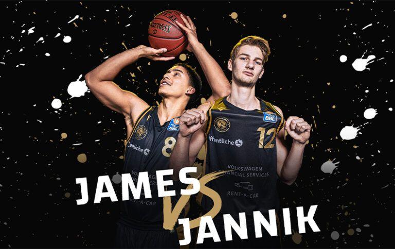 Team Challenge #1 • Ballers Knowledge – James vs. Jannik