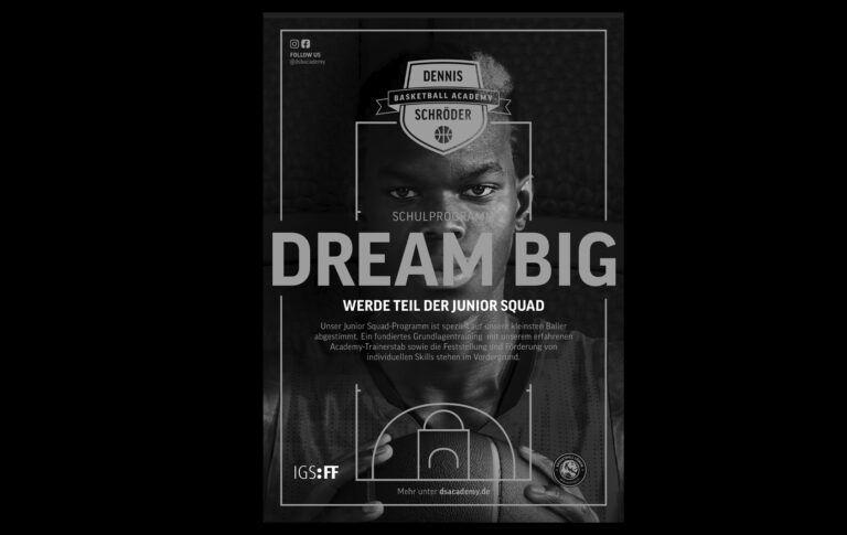 DREAM BIG – das Schul-Förderprogramm der IGS:FF / Info-Veranstaltung am Montag