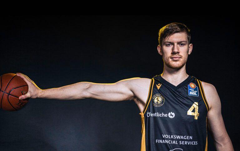Luc van Slooten meldet sich zum NBA Draft 2021 an