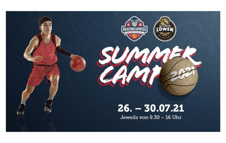 Was wäre ein Sommer ohne ein Basketball-Camp der SG Braunschweig?