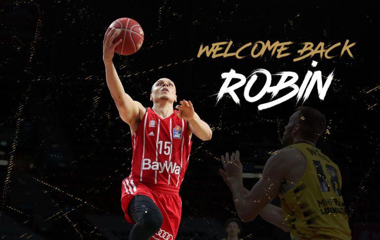 Rückkehr als Leader: Robin Amaize kommt vom FC Bayern