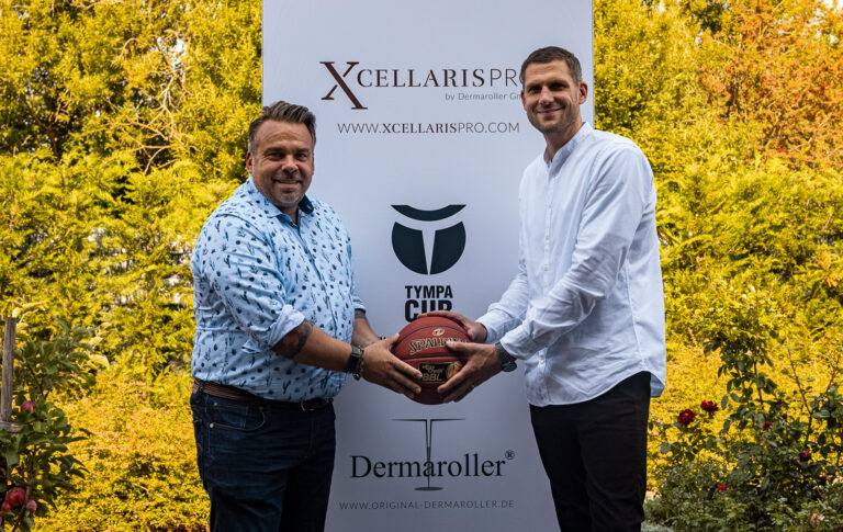 Dermaroller ist neuer Top Partner der Basketball Löwen