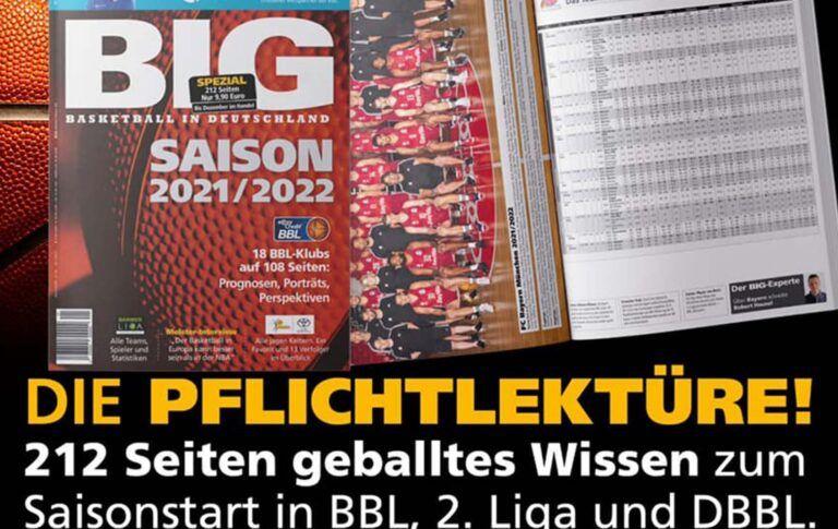 Das BIG-SONDERHEFT zur Saison 2021/2022 – jetzt erhältlich!