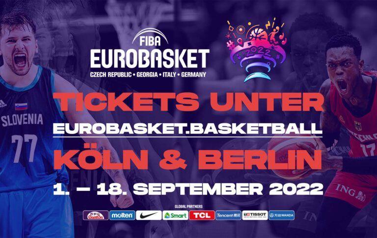 """Erlebe die europäischen Basketball-Superstars live! Jetzt """"Day Tickets"""" sichern!"""