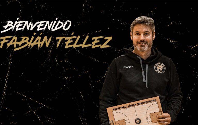 Vom FC Barcelona zu den Löwen: Fabián Téllez ist neuer NBBL- und Regionalliga-Trainer